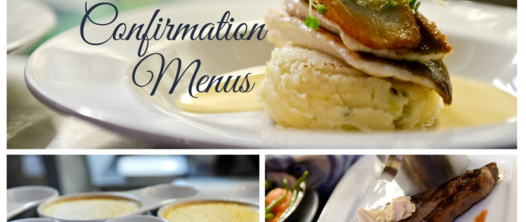 Communion & Confirmation Menus