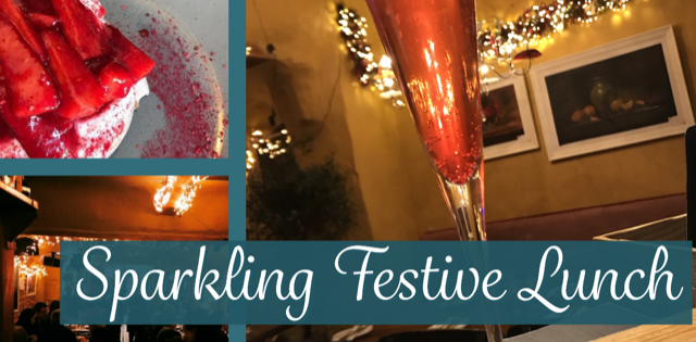 Sparkling Festive Lunch At Bodega December 11th to 23rd
