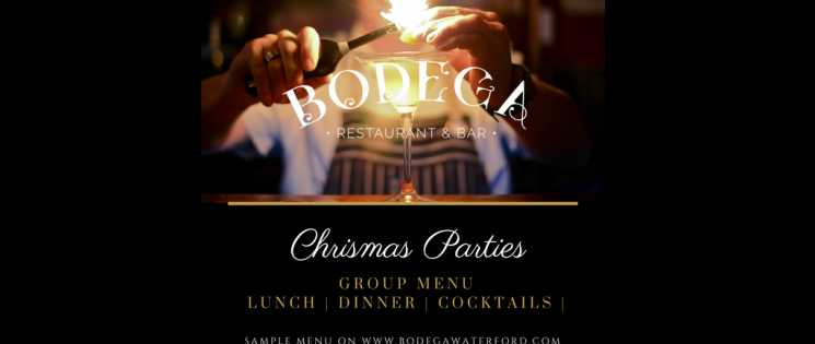 EAT, DRINK & BE MERRY at BODEGA THIS CHRISTMAS!